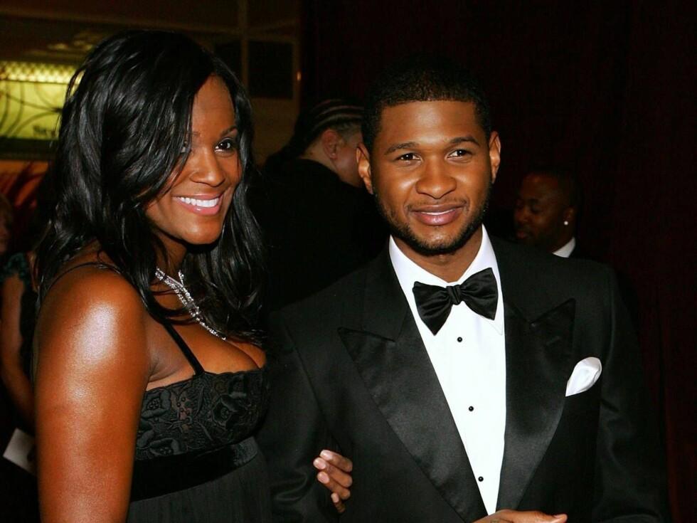 GIFTEKLARE?: Ifølge amerikanske medier skal Usher gifte seg med stylisten Tameka Foster. Foto: All Over Press