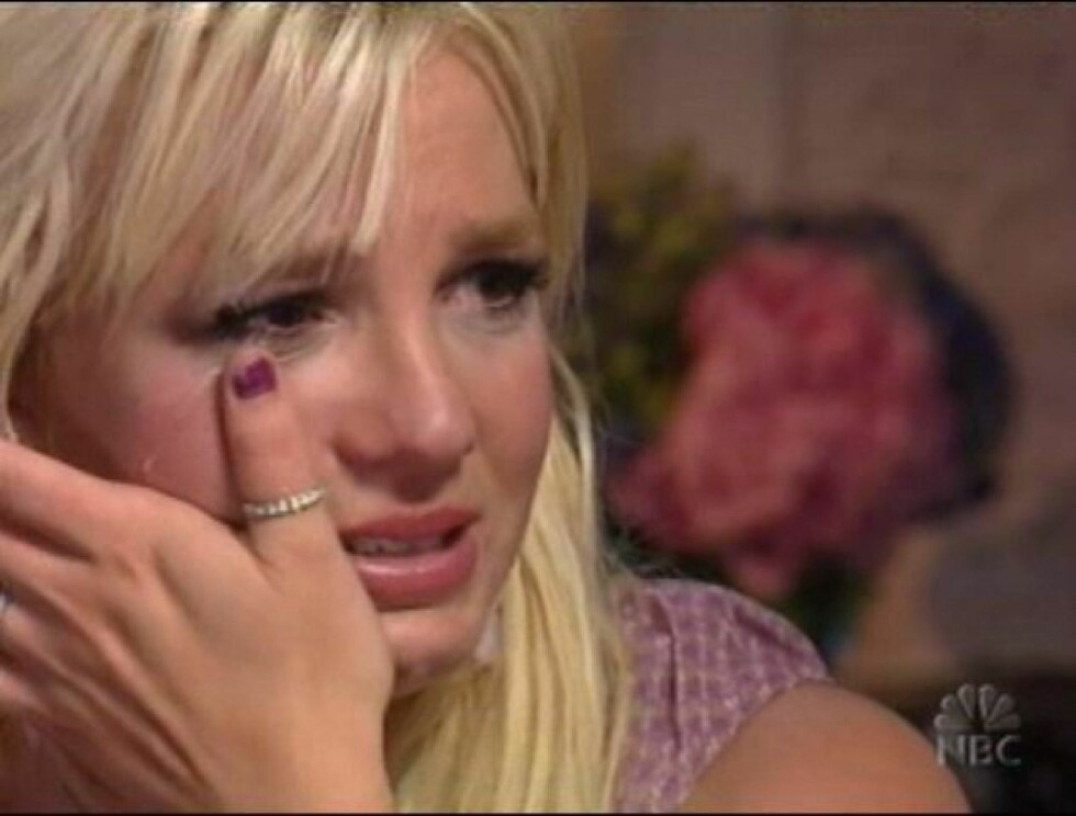 BRYTER SAMMEN: Klarer Britney å komme seg gjennom krisen? Foto: WENN