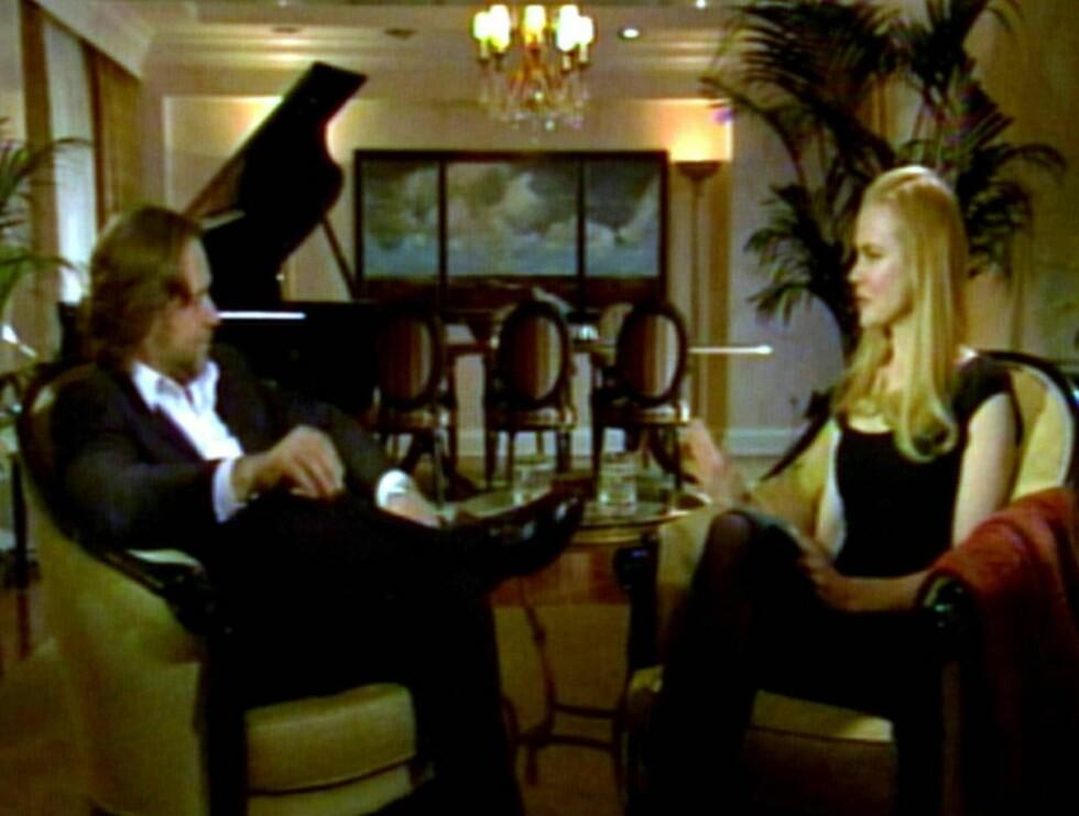 """INTIMT INTERVJU: I en spesialutgave av talkshowet """"Oprah"""" intervjuer Oscar-vinneren Russel Crowe Nicole Kidman. Foto: All Over Press"""