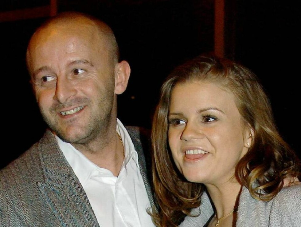 NYGIFT: Kerry Katona og Mark Croft giftet seg nylig. Nå har paret også fått sitt første barn sammen. Foto: Scanpix