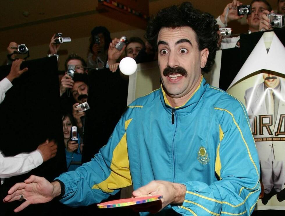NEI: Når Sascha Baron Cohen ikke får spille Borat, dropper han showet.  Foto: All Over Press