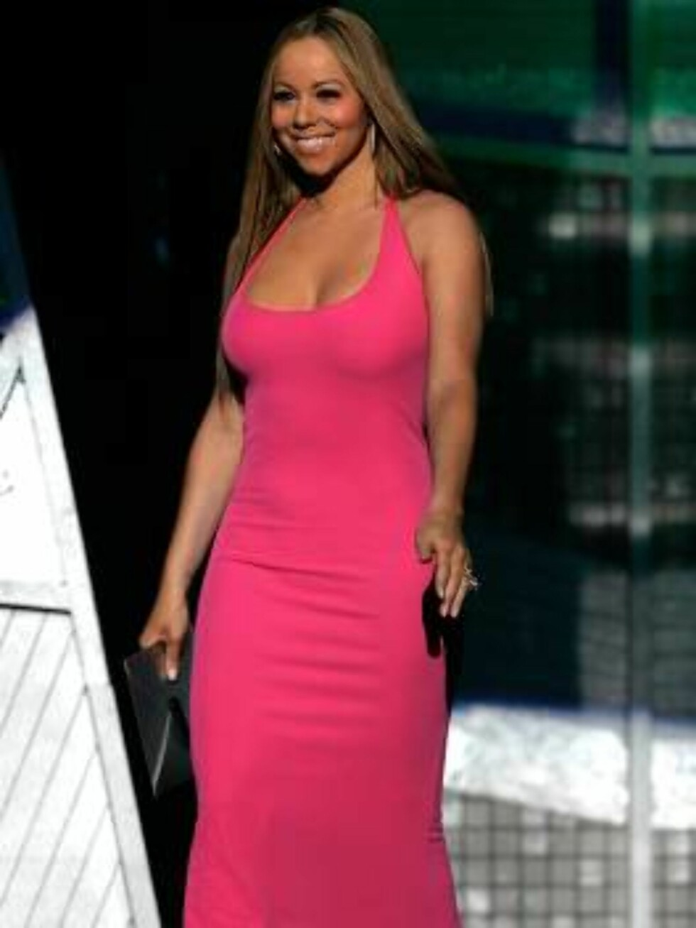 """HOLLYWOOD - JULY 12:  Singer Mariah Carey presents the award for """"Best Male Athlete"""" at the 2006 ESPY Awards at the Kodak Theatre on July 12, 2006 in Hollywood, California.  (Photo by Kevin Winter/Getty Images)71415534CA108_2006_ESPY_Awa / ALL OVER PRESS7 Foto: All Over Press"""