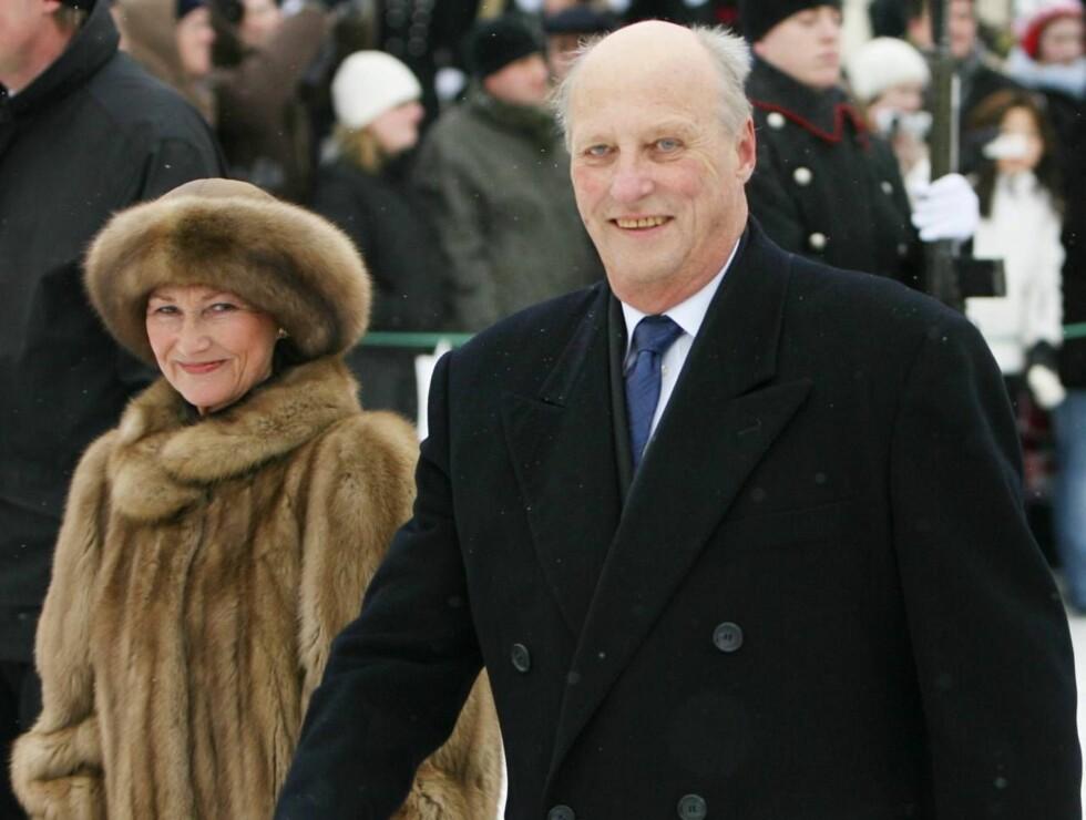 JUBILANT: Kong Harald ble i helgen feiret med brask og bram. Les alt om kongefesten i Se og Hørs bilag! Foto: SCANPIX