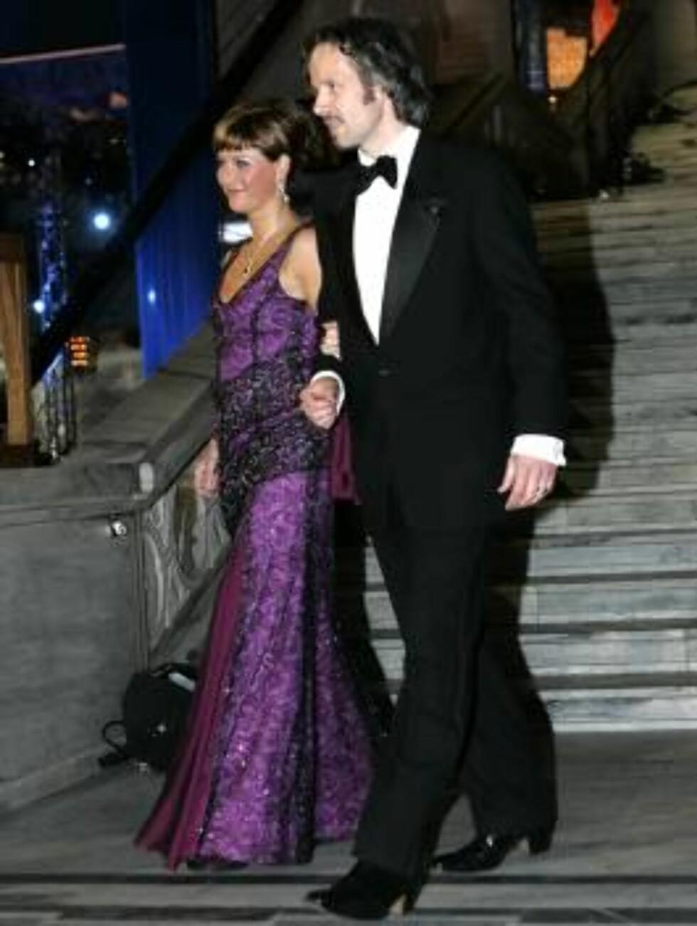 OSLO 20070223: Prinsesse Märtha Louise og Ari Behn ankommer festforestillingen i Oslo rådhus fredag kveld. Foto: Bjørn Sigurdsøn / SCANPIX / POOL        Foto: SCANPIX
