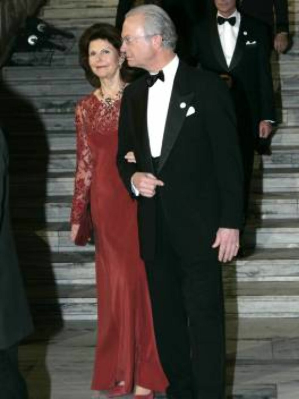 STAS: Dronning Silvia og kong Carl Gustaf Foto: SCANPIX