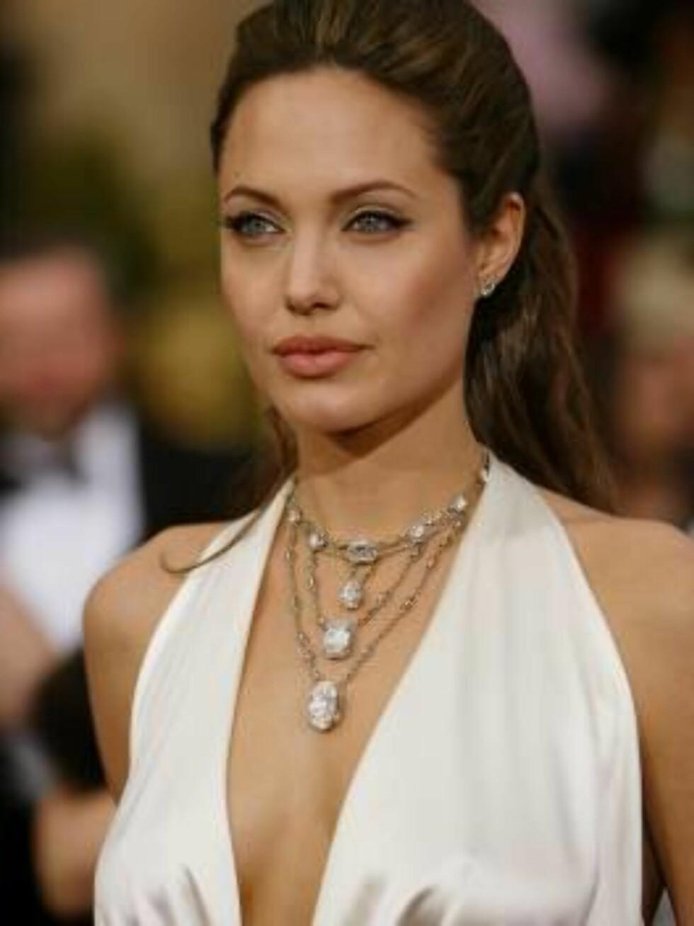 NUMMER EN: Angelina Jolie Foto: SCANPIX