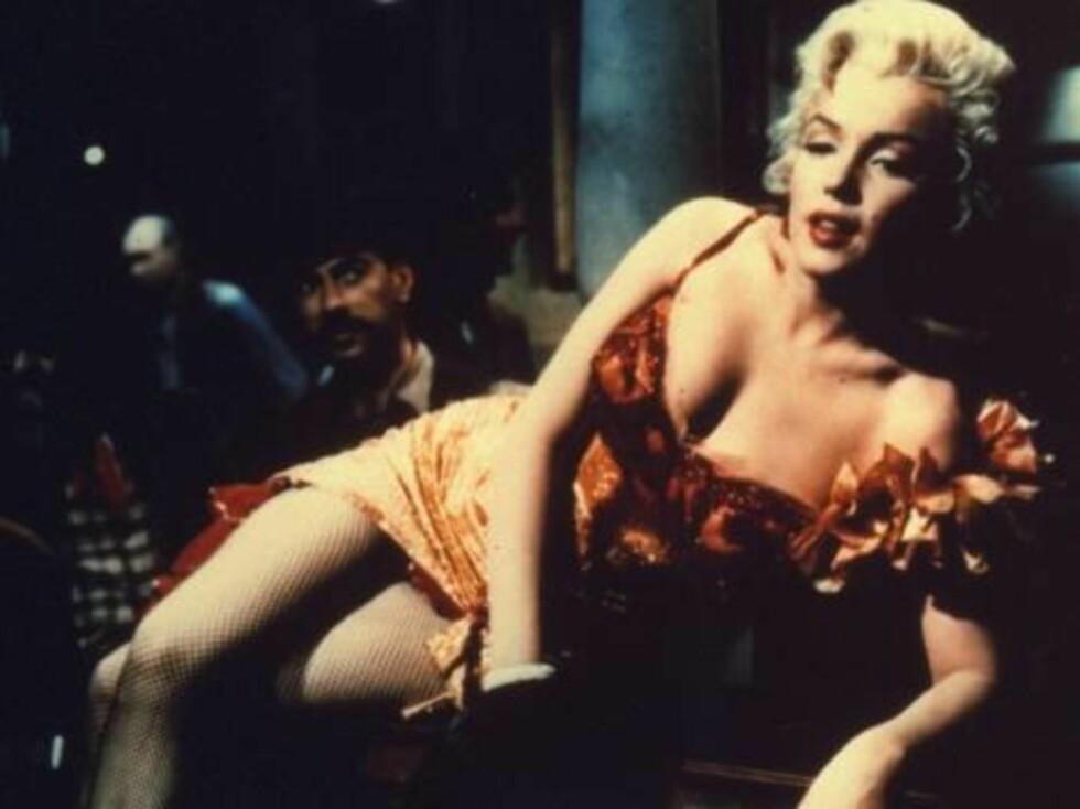SEXTAPE: En ny sextape med Marilyn Monroe og en ukjent mann er funnet, og solgt i USA.  Foto: SCANPIX