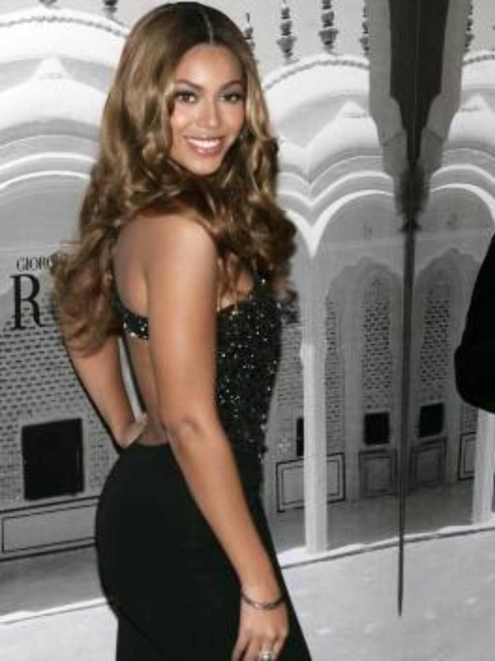 NUMMER FIRE: Beyoncé Knowles Foto: SCANPIX