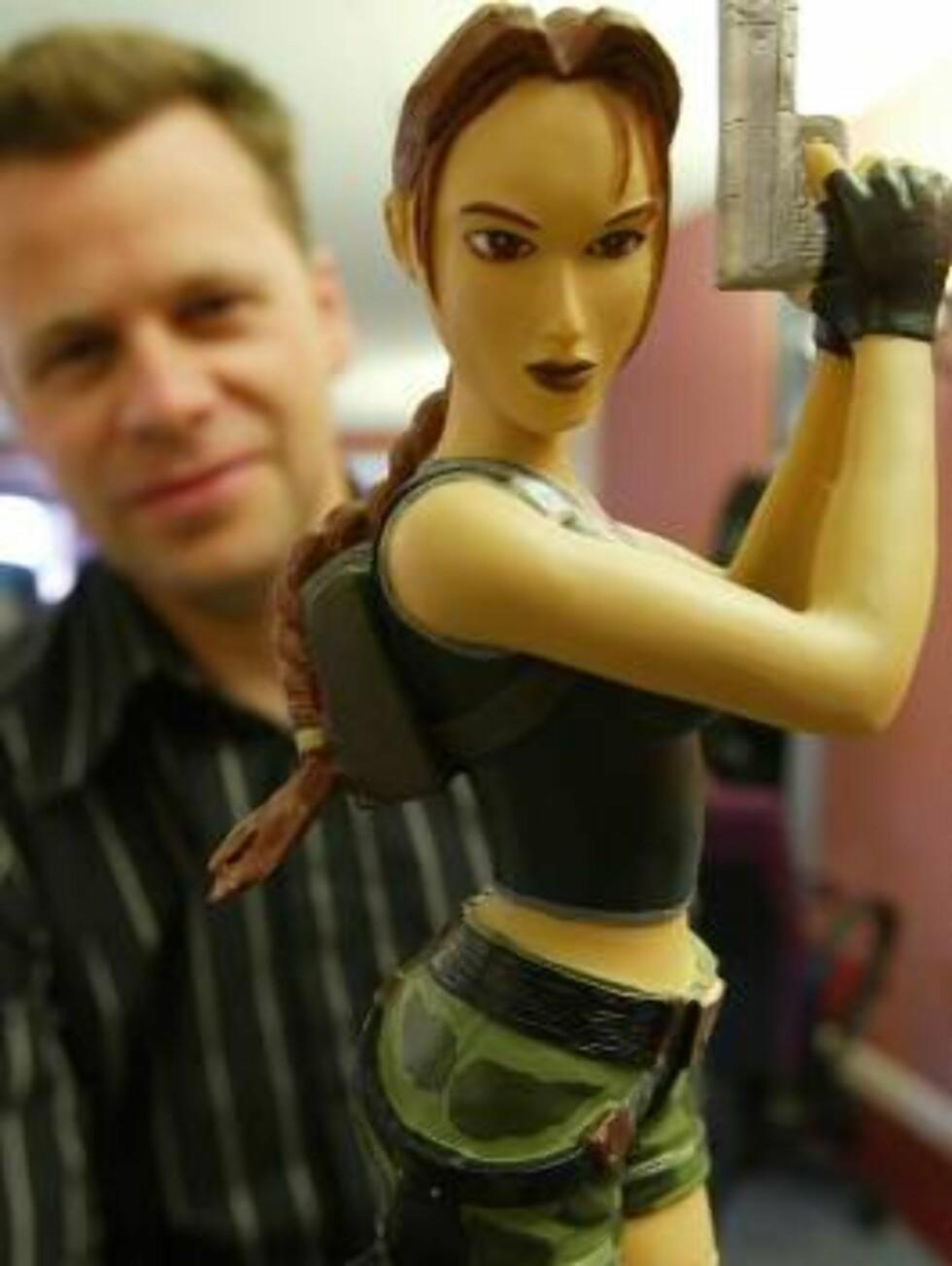 NUMMER SEKS: Lara Croft Foto: SCANPIX