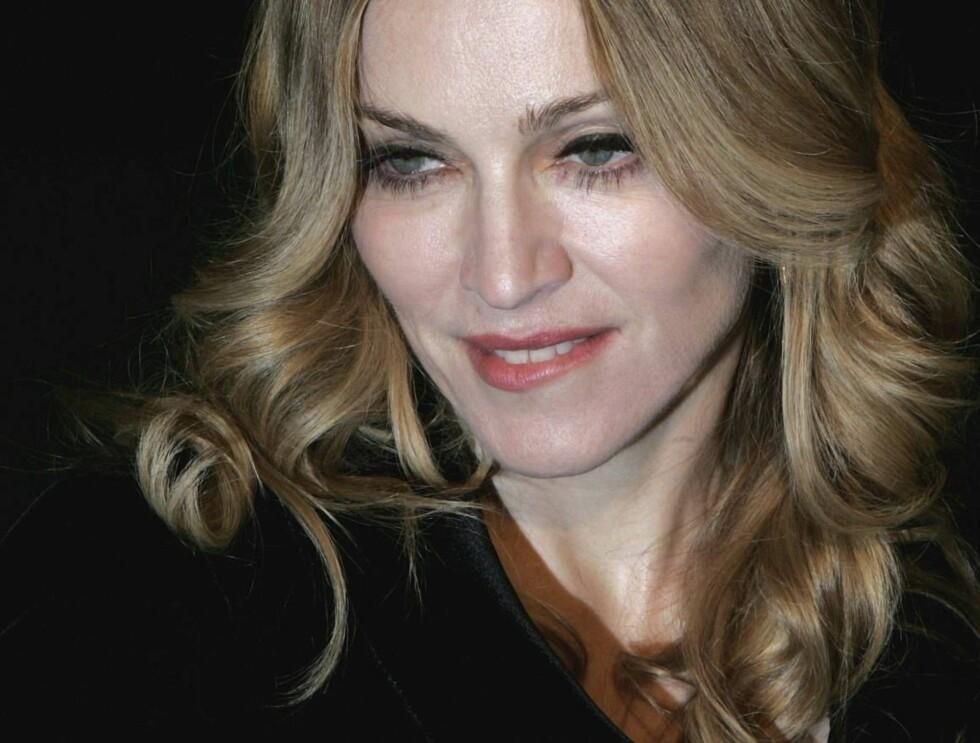 MODEN MODELL: Madonna skal pryde H&M-reklamer verden over. Foto: All Over Press