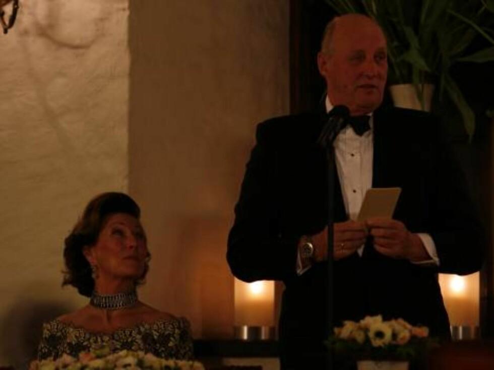 Regjeringen holder middag for Kong Harald p#0152 70 #0152rsdagen Foto: Se og Hør, Tor Lindseth