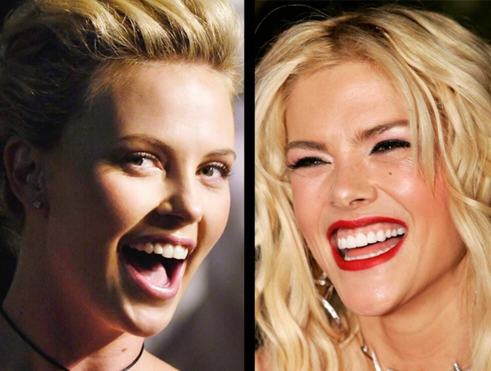 LIKHET?: Charlize Theron er påtenkt rollen som Anna Nicole Smith i filmen om hennes liv. Foto: AP/Scanpix