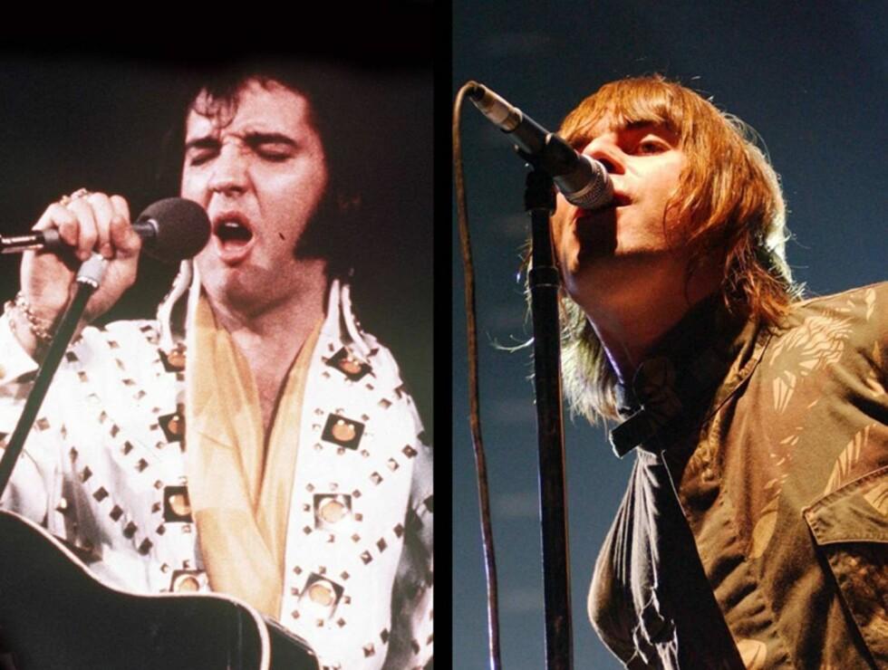 LIKHET?: Verdens største rockerebell hevder han hadde blitt større enn selveste Elvis. Hva tror du? Foto: All Over Press