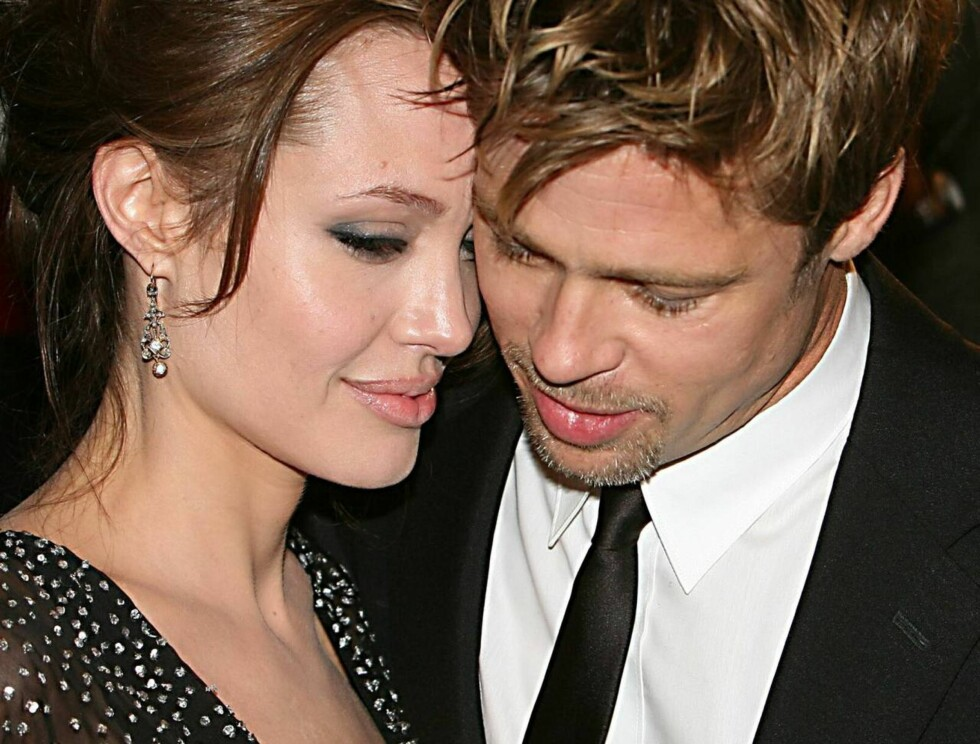 LYKKEN SOM BRAST?: Går det nå mot slutten på den lykkelige tiden mellom Hollywoods hotteste stjernepar? Foto: All Over Press