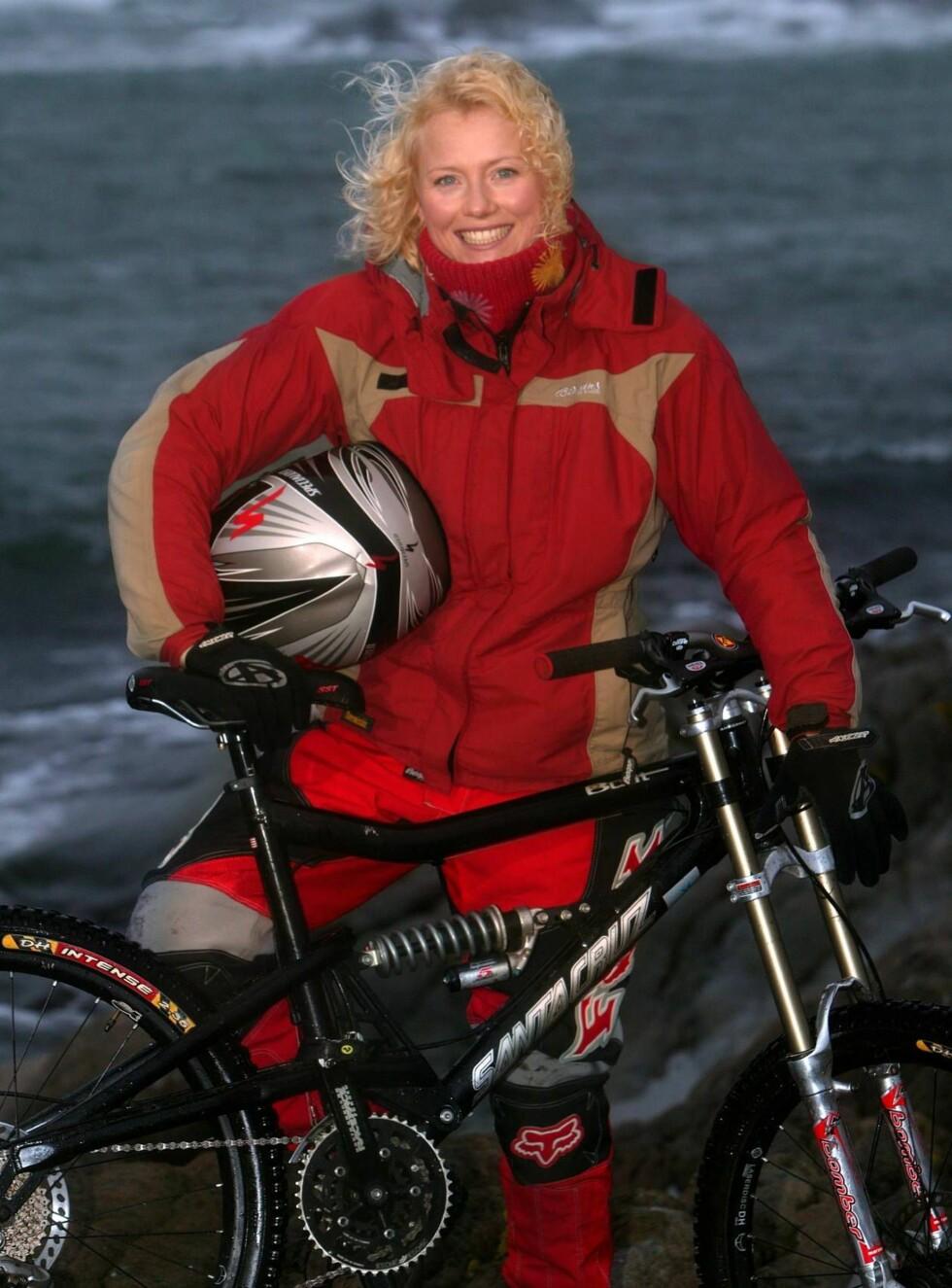 "I VINDEN: Hedda Kise har hatt mange friluftsprogrammer på TV 2. Serien ""Turklar"" ble kåret til årets beste familieprogram i 2005. Foto: Se og Hør"