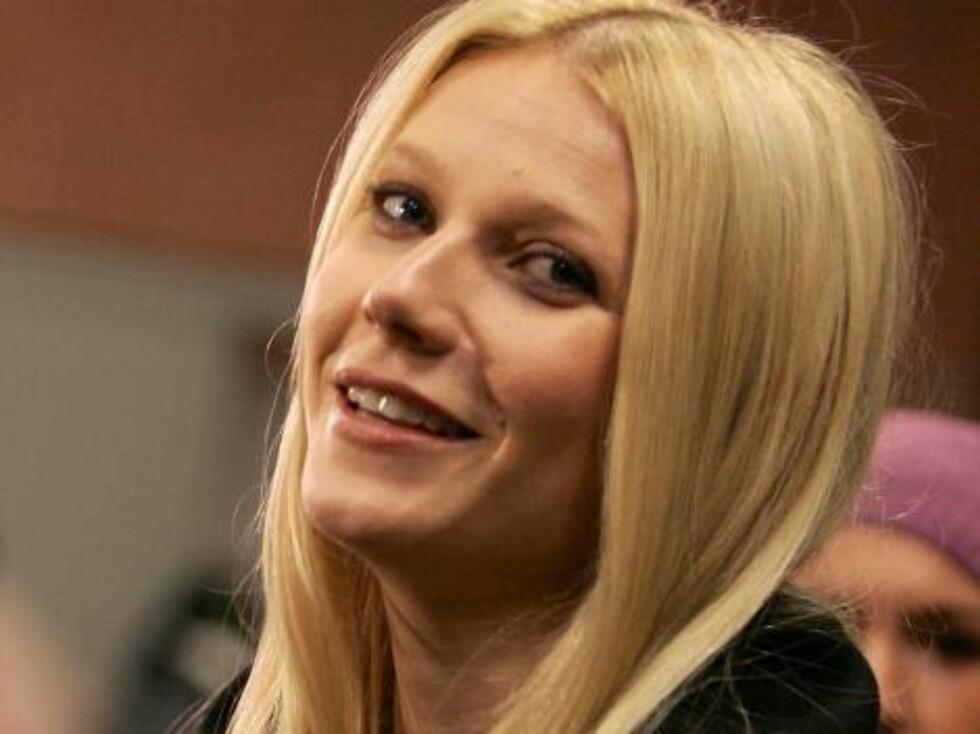 SJOKKERT: Gwyneth ble sjokkert da hun ble spurt om hun ville avslutte møtet på soverommet. Foto: All Over Press