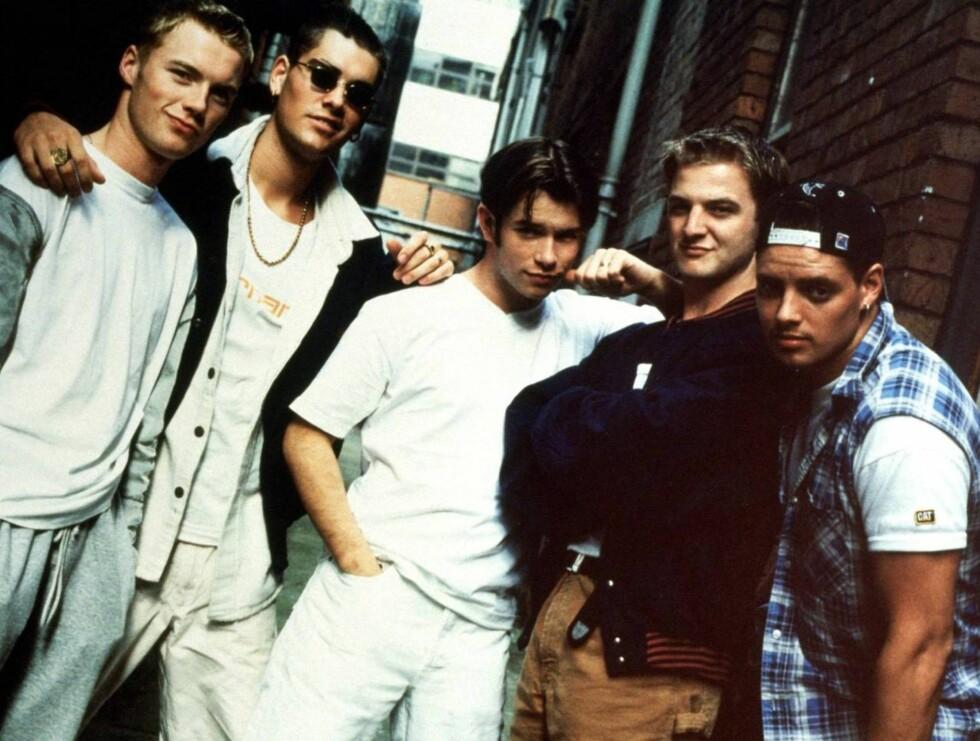 """HJERTEKNUSERE: """"Boyzone"""" hadde stor suksess på 90-tallet. Nå er de klare for ny cd og europaturné. Foto: All Over Press"""