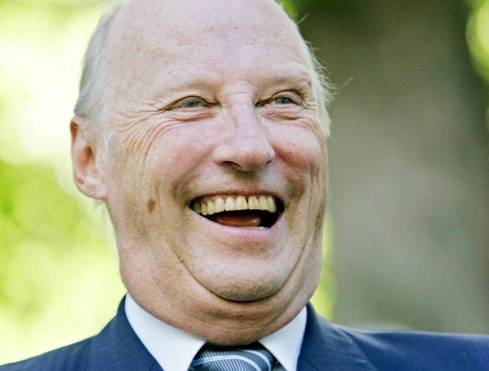 JUBELGUTT: Harald feires i mange dager når han fyller 70 år! Foto: SCANPIX