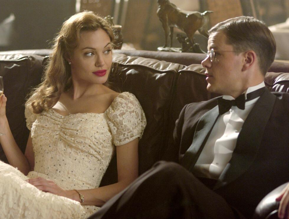 NEI TAKK: Angelina ville helst ikke ha sex med Matt Damon på film. Foto: AP