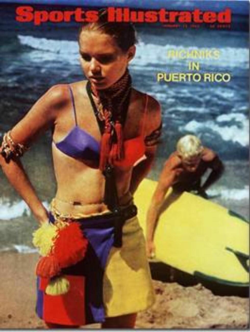1969. Sjekk skjørtet!   Modell: Jamee Becker. Foto: Sports Illustrated