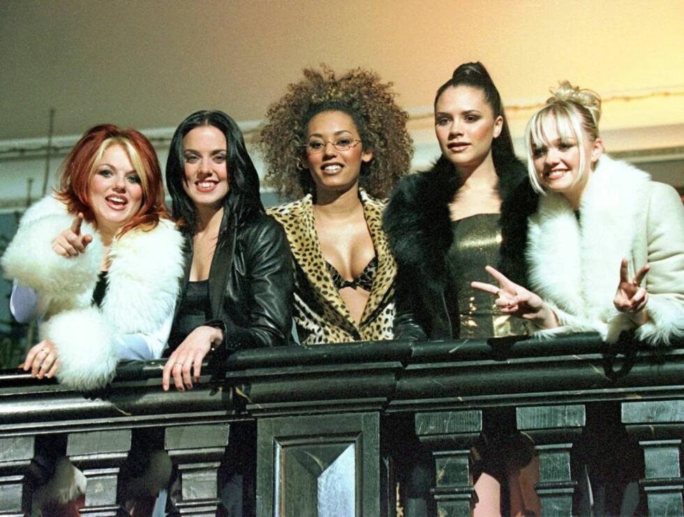 GAMLE TAKTER: 90-tallsfenomenet Spice Girls gjenforenes på turné til høsten. Foto: Scanpix