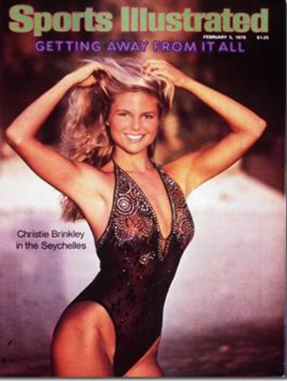 1979. Tror du Christie var glad for å havne på coveret?  Modell: Christie Brinkley. Foto: Sports Illustrated