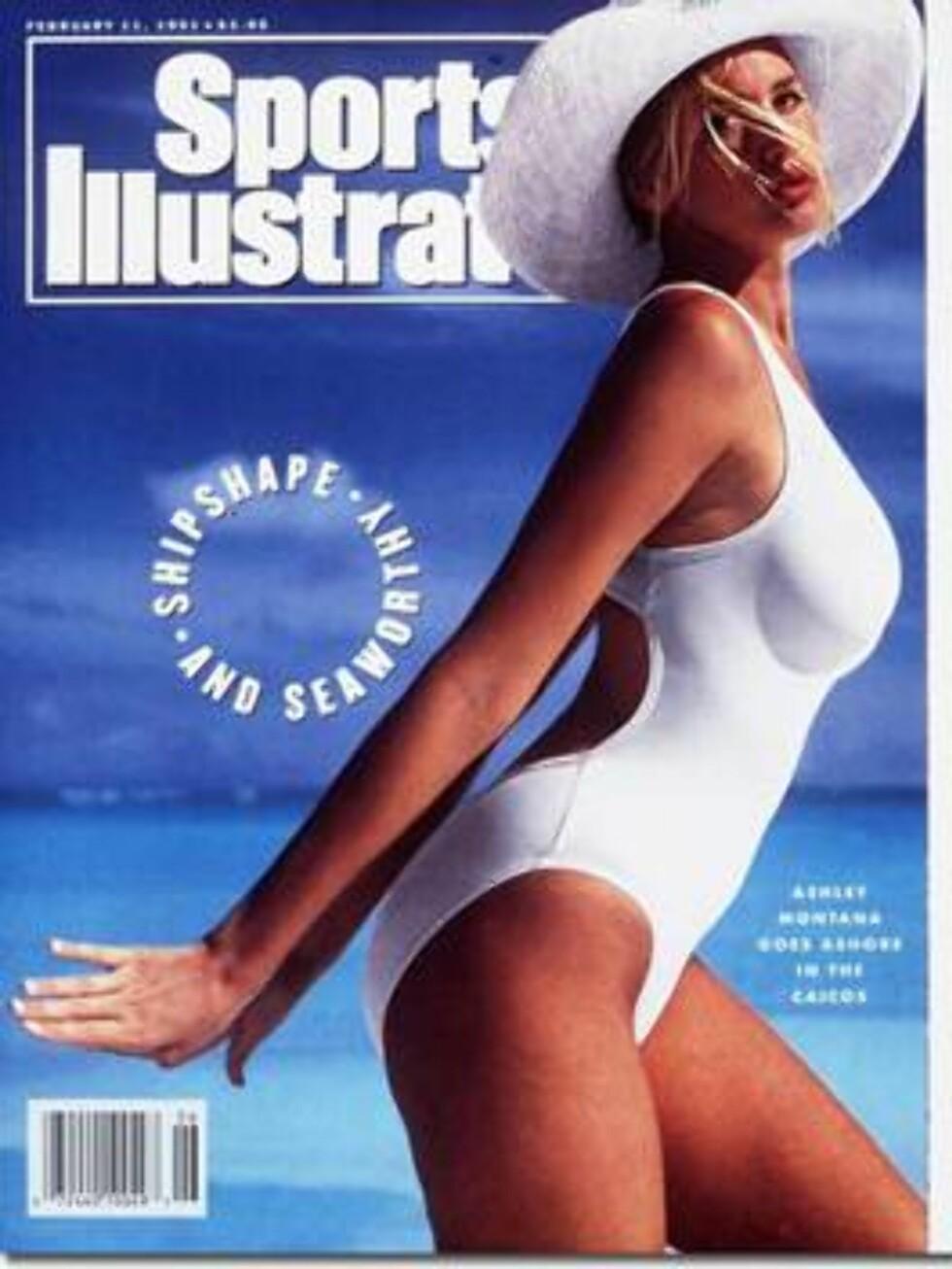 1991. Det oser tidlig 90-tall av dette coveret.  Modell: Ashley Montana. Foto: Sports Illustrated
