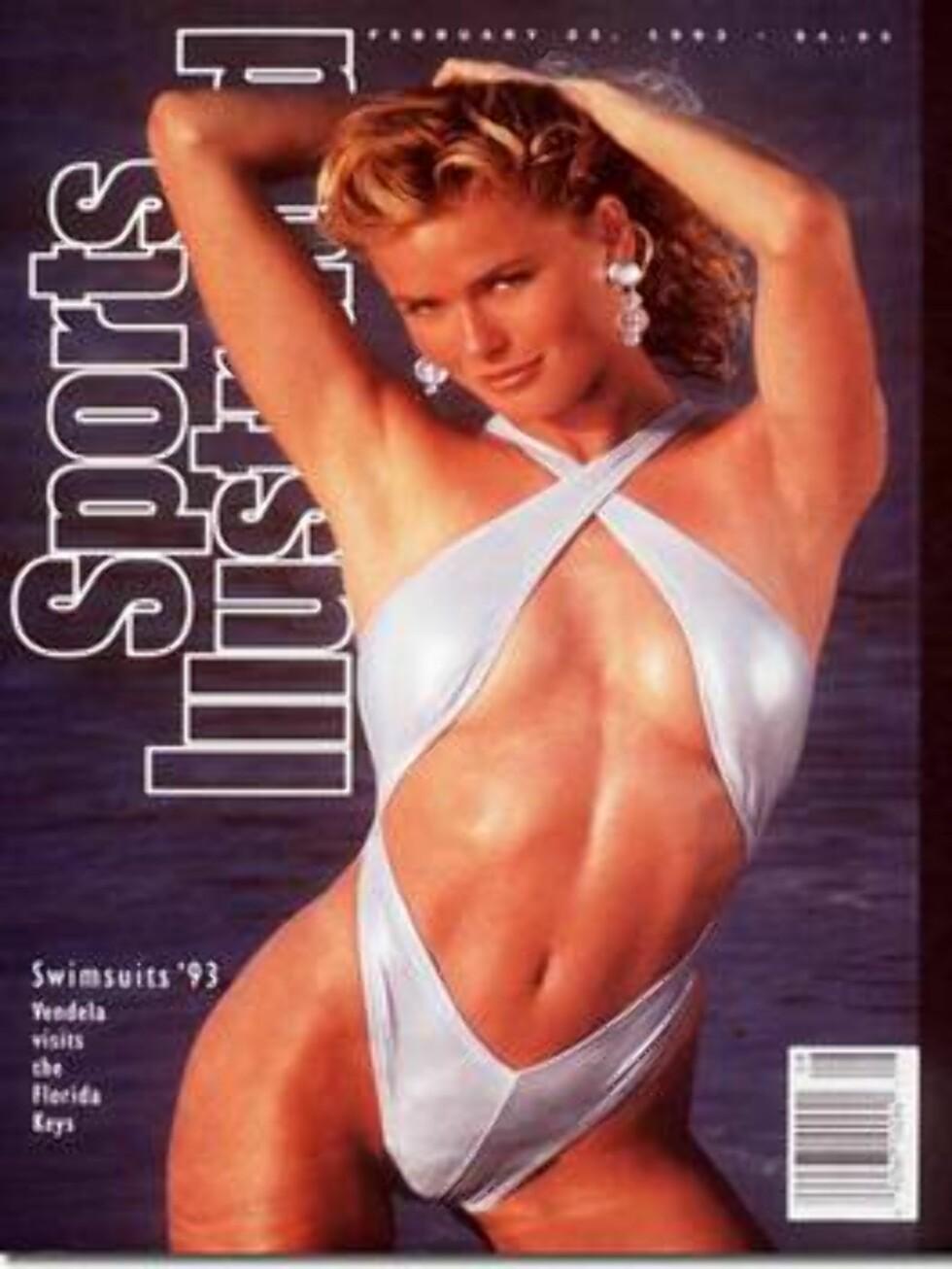 1993. Denne fruen kan vi kalle vår egen!  Modell: Vendela Kirsebom. Foto: Sports Illustrated