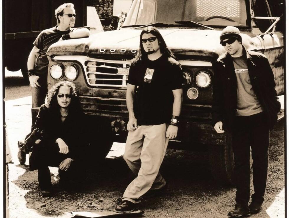TØFT: Metallica er et av verdens beste heavy-metalband.
