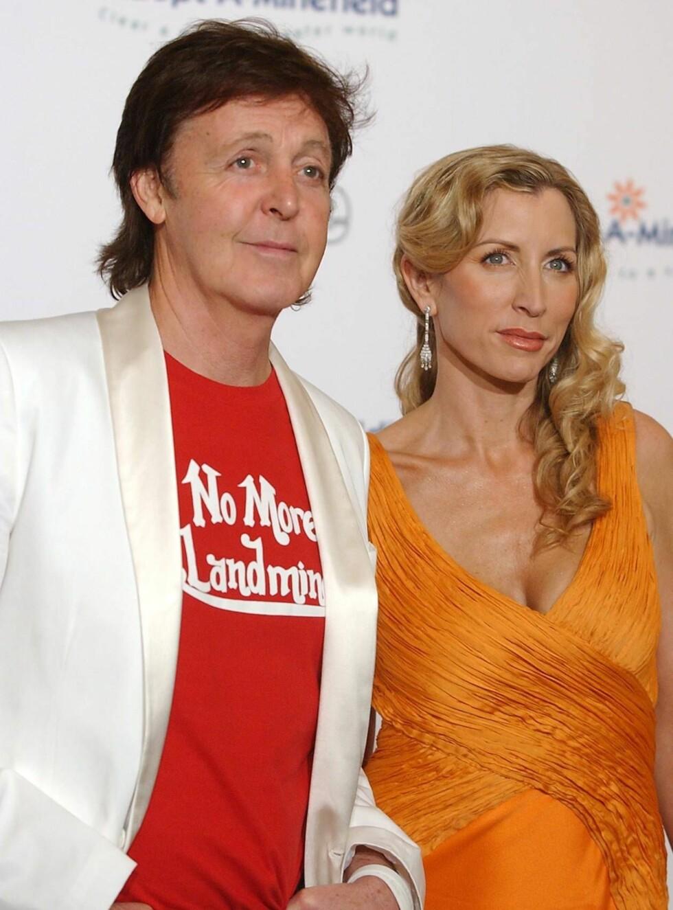 SAMMEN: Heather og Paul har hatt en av tidenes mest omtalte skilsmisser. Hvor mange millioner vil Mills egentlig ha? Foto: AP/Scanpix