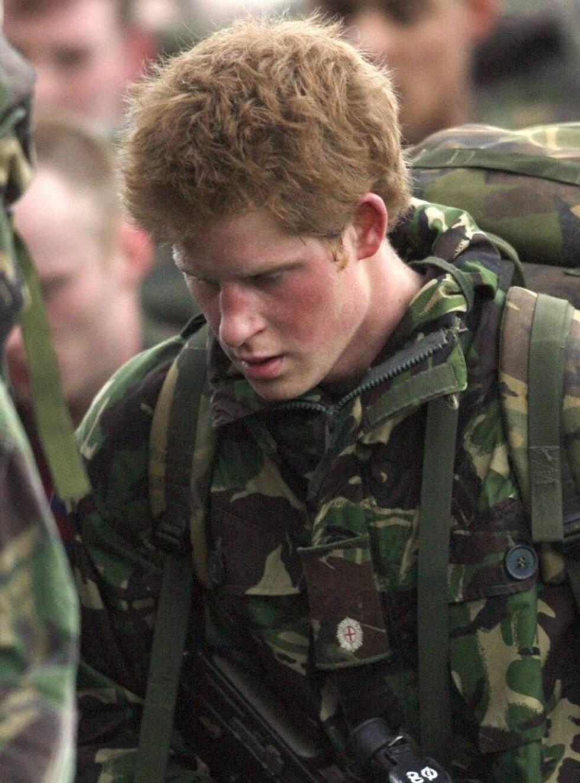 EN AV GUTTA: Prins Harry ønsker ingen spesialbehandling i Irak. Foto: All Over Press