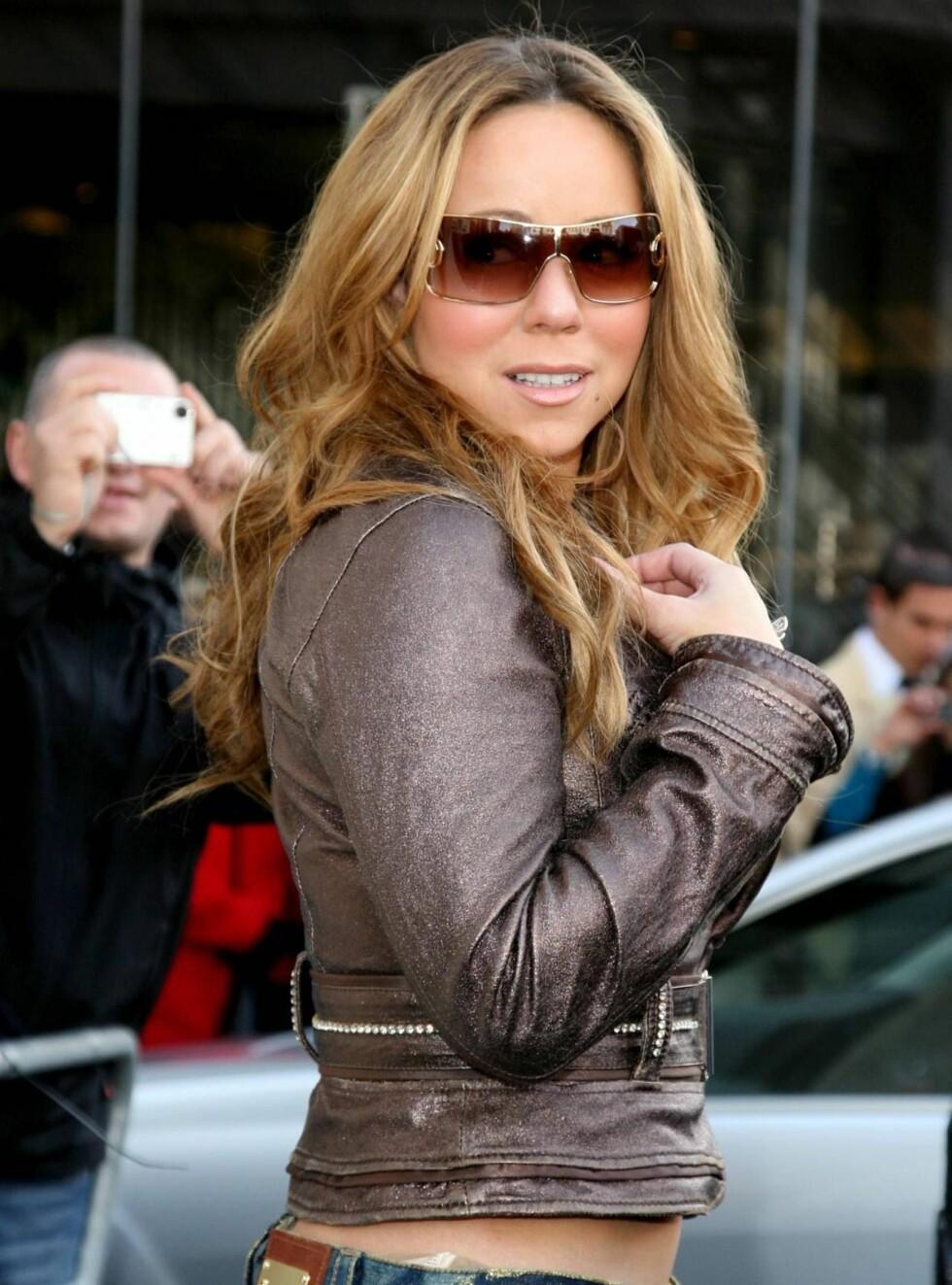 DIVA? JEG?: Mariah er ikke av den sparsommelige sorten.  Foto: All Over Press