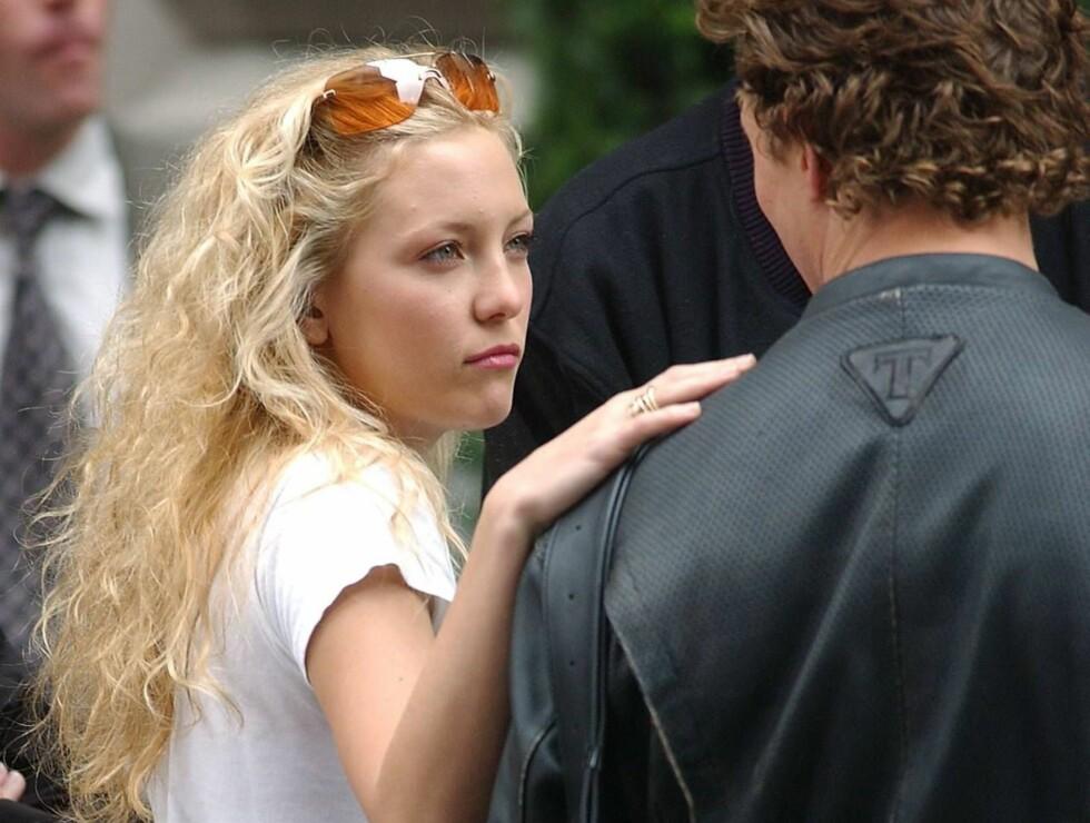 SAMMEN PRIVAT: Det er ikke bare på film at det er god kjemi mellom Kate Hudson og Matthew McConaughey. Foto: All Over Press