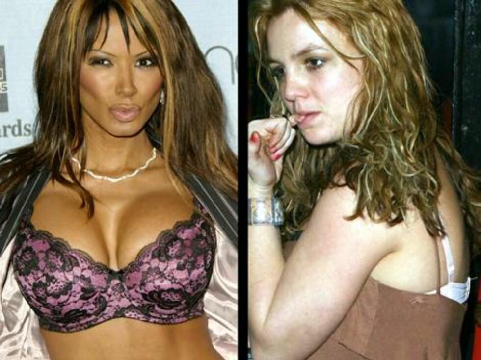 """FULL PUPP: Traci Bingham var en av de første """"Baywatch""""-babene. Det spørs om det er så mye babe i Britney Spears lenger ... Foto: Stella Pictures"""