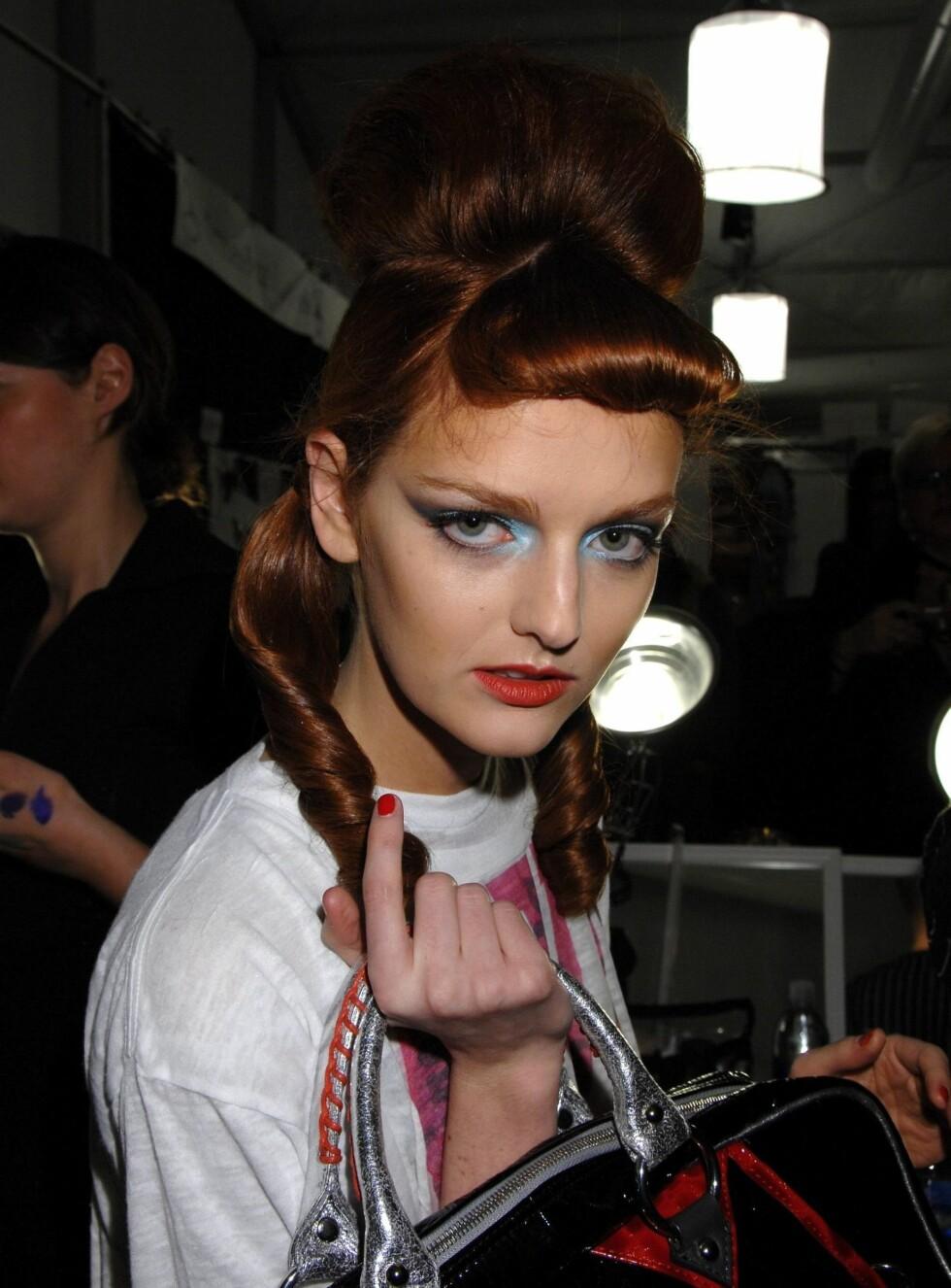 NEI! Britney får ingen veske av meg, sa Lydia Hearst. Foto: Stella Pictures