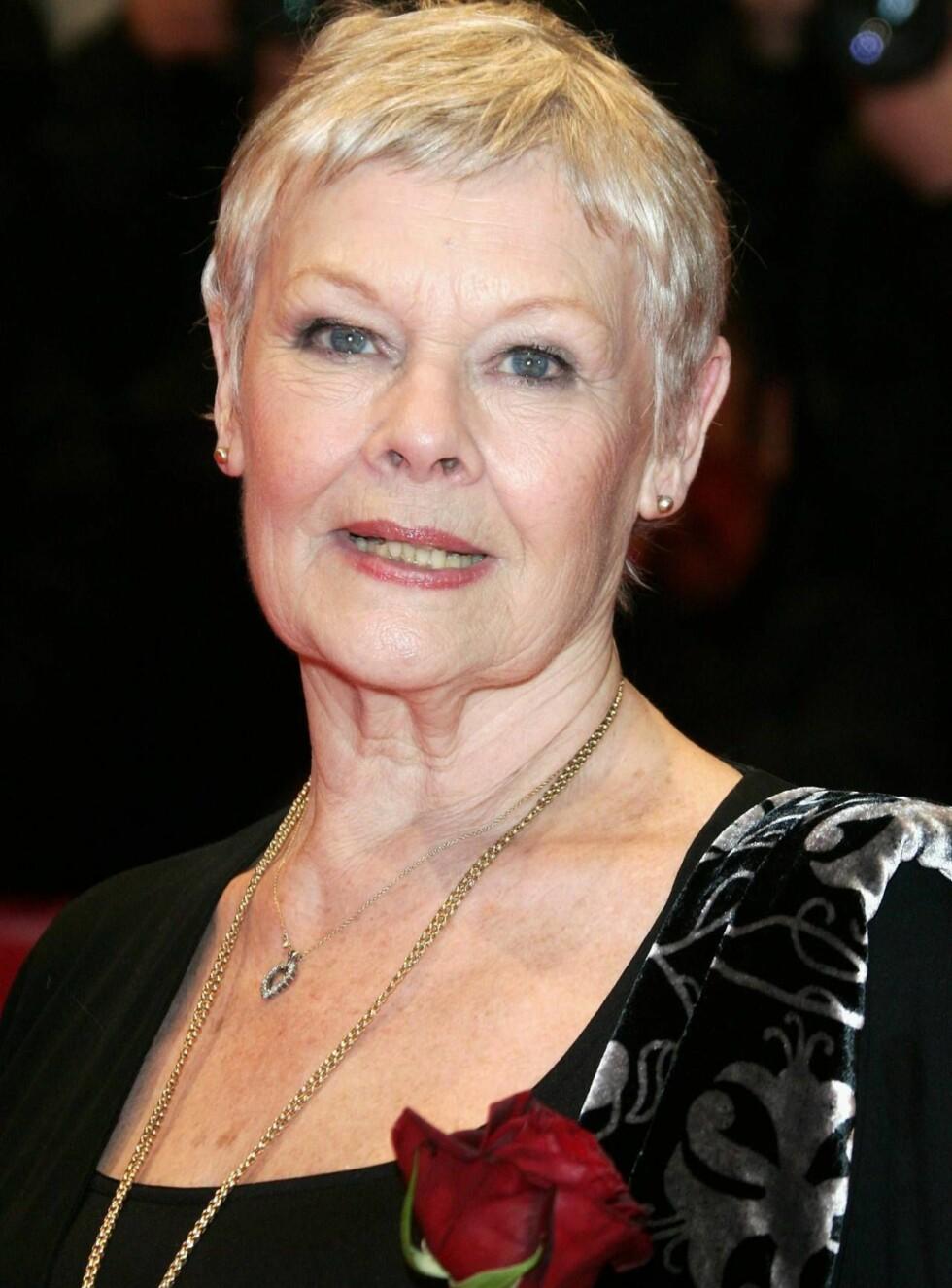 BESKJEDEN STJERNE: Judi Dench er overbevist om at hun ikke vinner noen Oscar i år. Foto: All Over Press