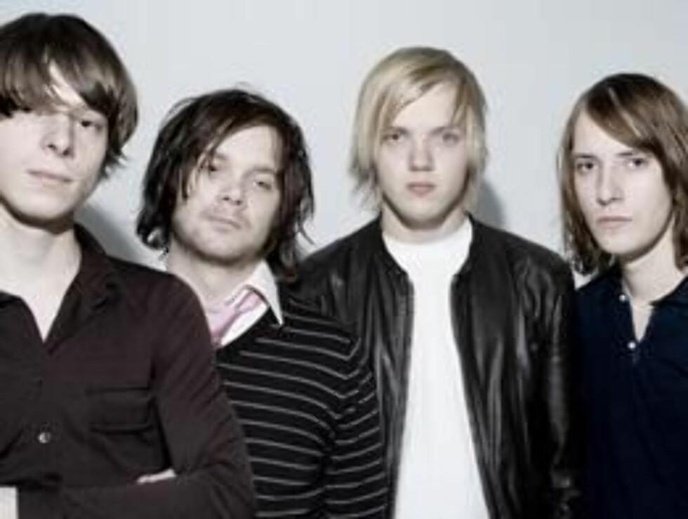 POPULÆRE: Ådne Meisfjord (t.v) har sammen med Kjetil Ovesen, Arne Stöy Kvalvik og Jonas Dahl gjort suksess med bandet 120 Days. Foto: faksimile bandets hjemmeside