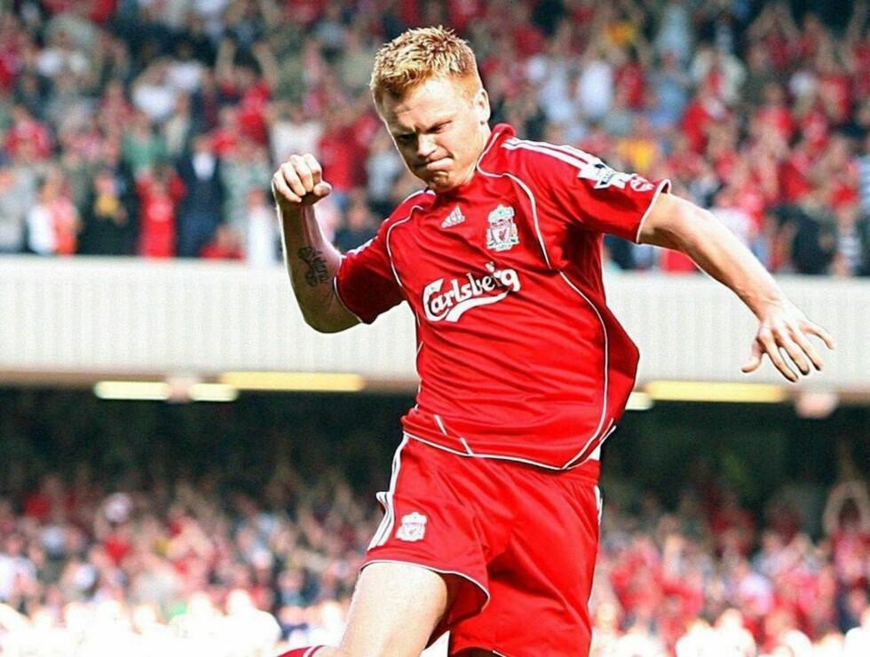 NY PENGEKRISE: Liverpool-proffen John Arne Riise sliter med milliongjeld i finansselskapet sitt. Foto: AP/Scanpix