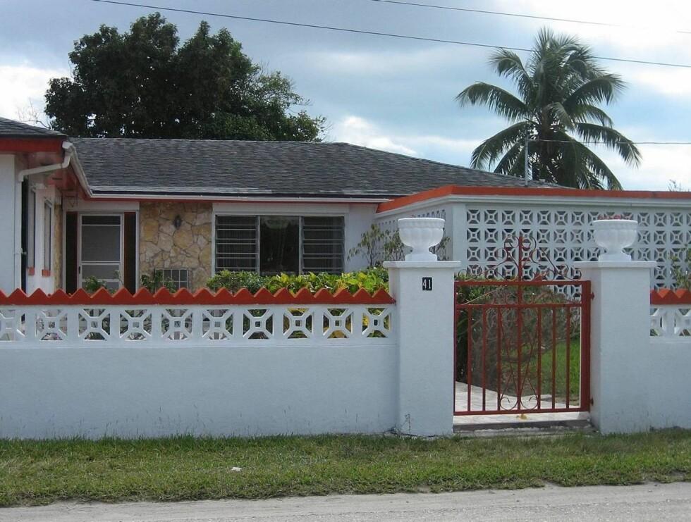 ANNAS VILLA: Det er full krangel om hvem som eier Anna Nicoles hus på Bahamas. Foto: Scanpix
