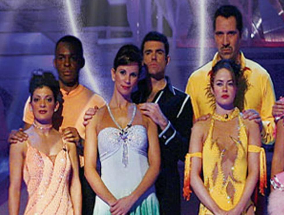 POPULÆR: David Seaman og dansepartneren Pam O'Connor (til høyre) danset seg frem til en femteplass!