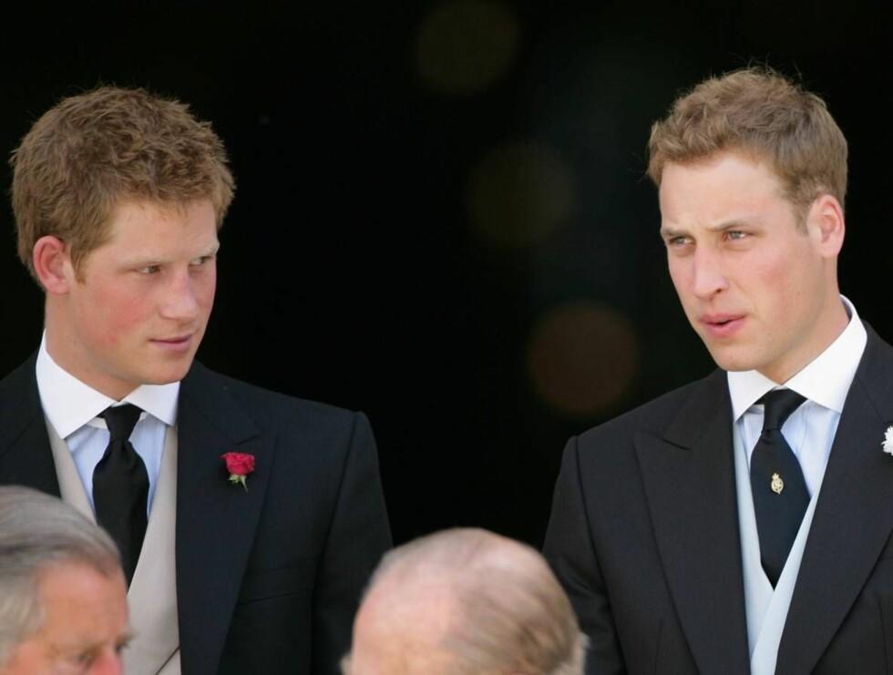 FLOTTE GUTTER: Sarah har ingen kontakt med prinsene Harry (t.v.) og William, men synes de er blitt flotte ledere og forbilder. Foto: All Over Press
