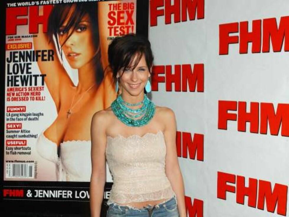 AVKLEDD: Yndige Jennifer Love-Hewitt vet å være sexy. Foto: AP/Scanpix