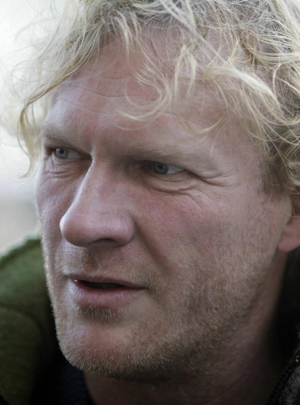 VESKENAPPET: Sven Nordin ga kona en eksklusiv veske til bursdagen. Tre måneder senere ble den rappet av tyver. Foto: SCANPIX