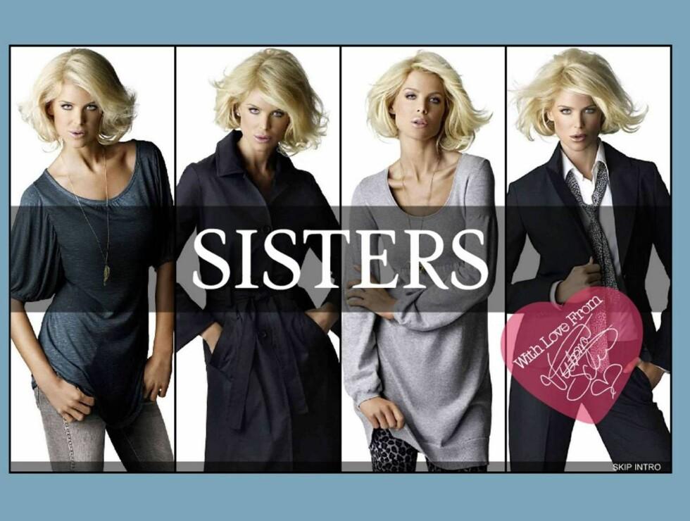 """FLOTT: Victorias Svar på Sisters henvendelse, var bare """"yeah!"""". Blondinen stråler i deres nye kampanje! Foto: Brothers.se"""