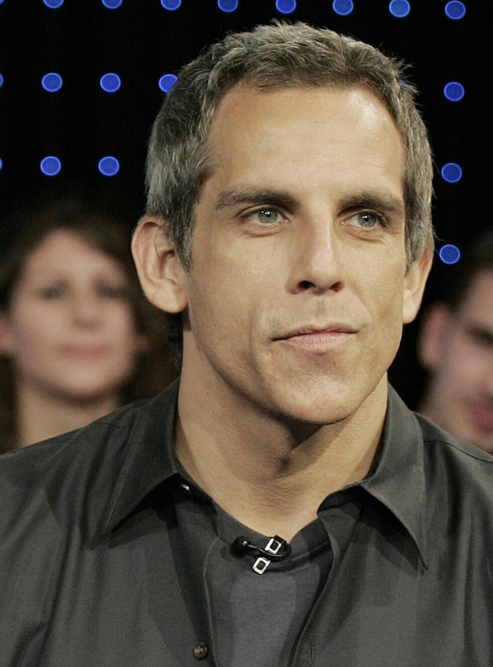 VANT OGSÅ: Ben Stiller vil bli hedret med prisen i år. Dermed er han med i samme klubb som blant annet Halle Berry og Sandra Bullock. Foto: AP/Scanpix