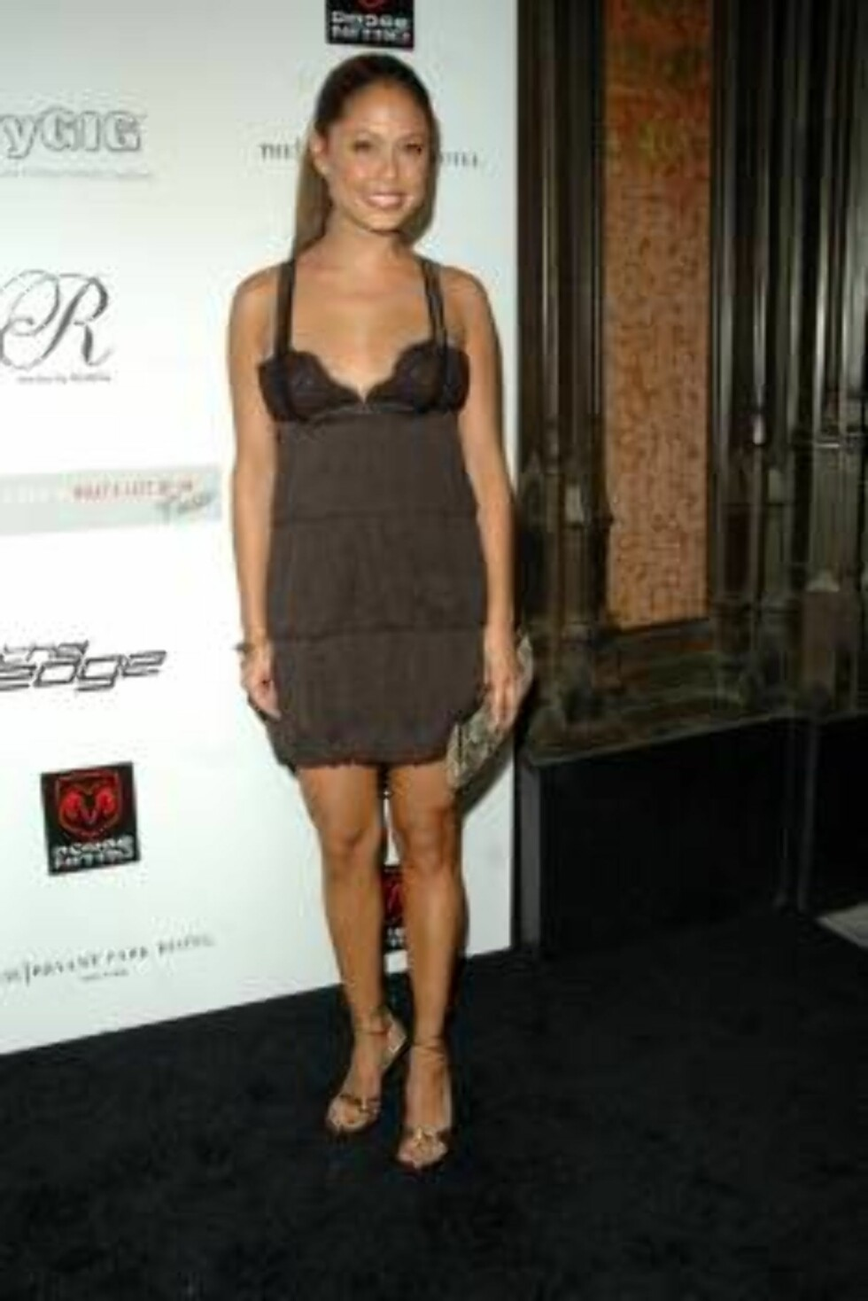 Vanessa Minnillo atNick Lachey's Official Pre-VMA Party held at the Cellar Bar in the Bryant Park HotelNew York City, USA-30.08.06Credit: WENN Foto: WENN