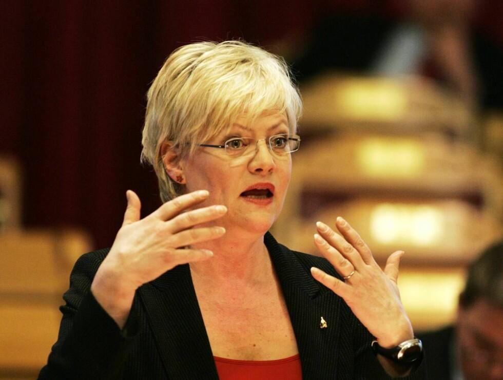 ENDRET REGLENE: Kristin Halvorsens egen forskrift for å kjøle ned boligmarkedet, kan ha vært utslagsgivende for at hun selv gikk glipp av drømmeboligen. Foto: SCANPIX