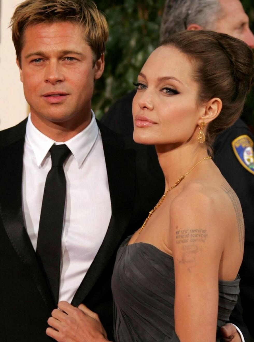 OVER?: Brad Pitt er lei av Angelinas sjalusi... Foto: All Over Press