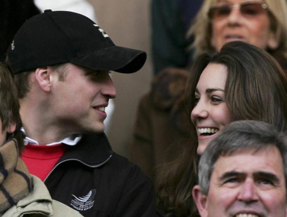 KLARE?: Ifølge kilder blir prins William tvunget til å gifte seg med sin Kate. Han er rett og slett for redd til å la være! Foto: All Over Press