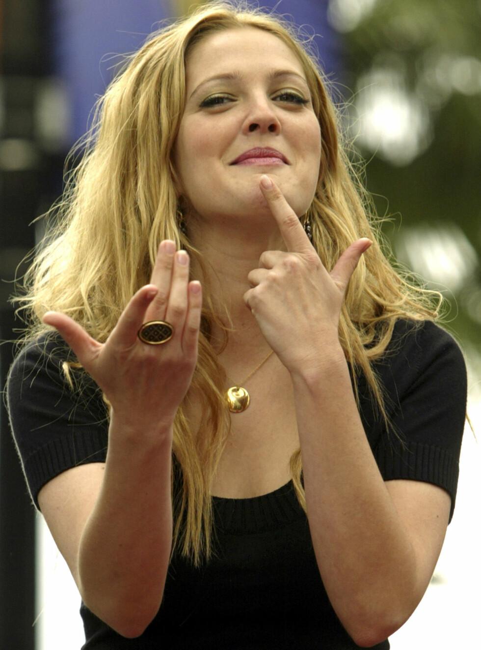 DUMPET: Drew har har klart seg overraskende bra til tross for alt hun har vært gjennom. Foto: AP